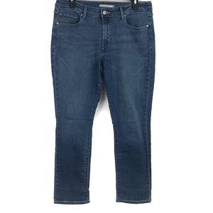 Levi's Mid Rise Skinny Stretch Jeans Size 12